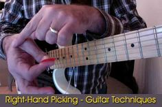 Right-Hand Picking – Guitar Techniques