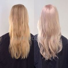 Loved this change on my friend, Mari Koleston special blonde 35g 12/07+ 35g 12/61+20g 12/81+ 12% global color 35-40 minutes without heat! #wellaeducation #wellahair #wellalife