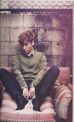 Big Bang's T.O.P photoshoot for Bazaar Korea