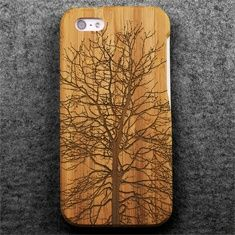 In The Boughs (Bamboo iPhone 5 Case): Handmade in Portland, Oregon, each Grove iPhone 5 Case is milled from a solid block of sustainable bamboo, then hand sanded and oiled. Inside, a plant fiber composite core keeps your iPhone in place. Made of 100 percent post-consumer fibers, this unique case is the greenest you're going to get.