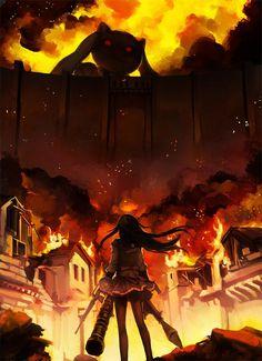 Madoka Magica x Shingeki no Kyojin