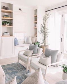 Nordic Living Room, My Living Room, Home And Living, Living Room Decor, Living Spaces, Living Area, Beautiful Living Rooms, Beautiful Interiors, Home Office Design