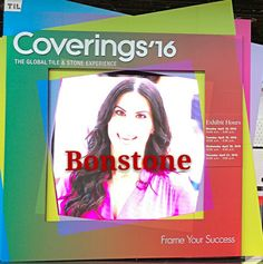 Coverings'16 will close,Bonstone thanks for everyone which coming our booth.we looking forward cooperation whith you.