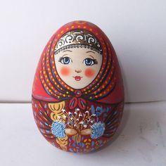 #матрешка #пасха #роспись #дизайн #россия #doll #handmade #matryoshka #russia…