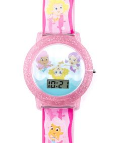 Look at this #zulilyfind! Pink Bubble Guppies Lenticular Watch by Bubble Guppies #zulilyfinds