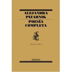 Poesia Completa de Alejandra Pizarnik, de Lumen
