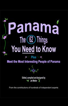 Retire in Panama - The 62 Things You Need to Know - free eBook by Jet Metier - this eBook is written by a friend, so I thought I'd share it in case you are looking for a less expensive place to live Best Places To Retire, Expectation Reality, Moving Overseas, Living In Mexico, What A Wonderful World, Going Crazy, Free Ebooks, Need To Know, Just Love
