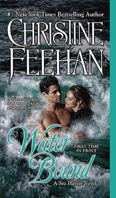 Water Bound by Christine Feehan Sea Haven series Christine Feehan, Paranormal Romance Books, Romance Novels, Book Series, Book 1, Book Title, Book Nerd, Yasmine Galenorn, Haven Series