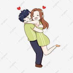 Love Cartoon Couple, Cute Love Cartoons, Hug Images, Cartoon Images, Hug Cartoon, Hugging Drawing, Hug Illustration, Hug Gif, I Love You Girl