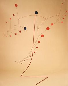 Alexander Calder. The founder of mobiles!