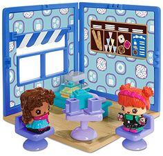 My Mini MixieQ's Cafe-Bakery Mini Room, Multicolor Mini Things, All Things Cute, My Mini Mixieqs, Mini Cafe, Unicorn Rooms, Black Baby Dolls, Miraculous Ladybug Memes, Childhood Toys, Kids Store