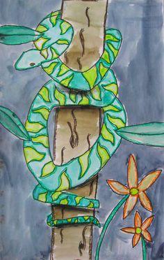 MaryMaking: Wrap Around Snakes