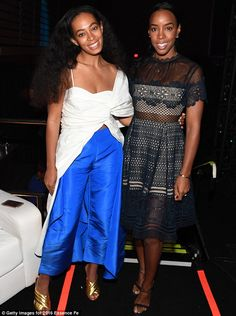 Solange Knowles and Kelly Rowland at Essence Fest | Daily Mail Online