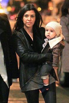 Muuba Leather Jacket Kourtney Kardashian wears in New York City - Kourtney Kardashian - Zimbio