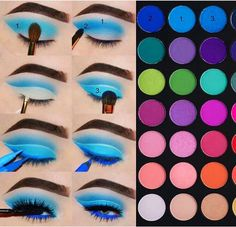 Make up Eye Shadow Looks Step By Step James Charles 38 Ideas For 2019 Eye Makeup Charles Eye Eye Makeup james charles palette Ideas James Shadow Step Makeup Eye Looks, Eye Makeup Steps, Eye Makeup Art, Colorful Eye Makeup, Beautiful Eye Makeup, Eyebrow Makeup, Make Up Palette, Eyeliner, Make Up Designs