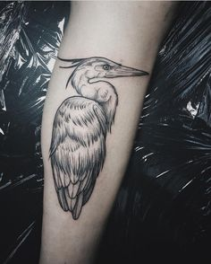 22 best heron tattoo images on pinterest heron tattoo birds and rh pinterest com snowy egret tattoo Simple Bird Tattoos