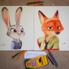 Wow just wow people are amazing!!! Have you ever tried to draw something from scratch with colored pencils? I have and no matter how many times I've tried it always ends up looking like the art of a first grader.
