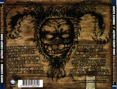 Capas de CDs e DVDs de Rock Online!!!: ( Capa / Cover ) White Zombie - Astro-Creep: 2000 (1995)