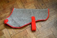 DIY dog coat from an old jumper
