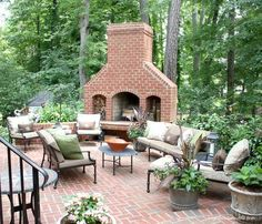 outdoor fireplaces | Outdoor Fireplace
