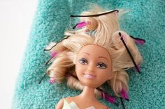 How to Curl Barbie Hair (with Pictures) | eHow