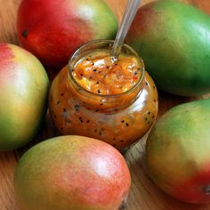 Indian Mango Chutney. Sweet and Spicy. Perfect as a spread, dip, or used in a variety of curries and other Indian dishes.