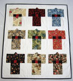 Kimono Quilt. Gallery - In A Bind Quilting::Quilts by Margie