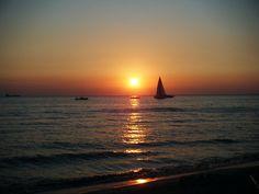 Red Sunset,  Gallipoli, Italy