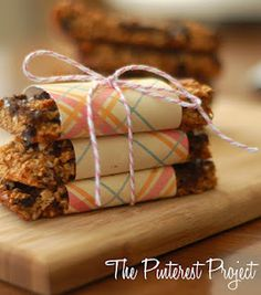 granola on the go    #pinterestdashprojectdotblogspotdotcom