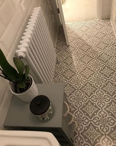 Customer Photos : Have you used our tiles in your home? Share your creation with us today to get featured with hundreds of stunning customer photos. Hall Tiles, Tiled Hallway, Grey Hallway, Hall Flooring, Kitchen Flooring, Flooring Tiles, Grey Kitchen Tiles, Floors, Grey Flooring