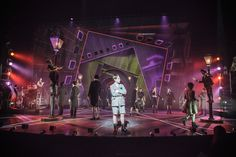 Emil and the Detectives. National Theatre. Set design by Bunny Christie. 2013
