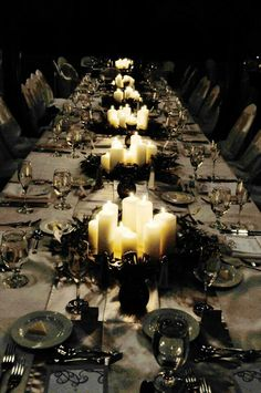 Goth:  #Gothic supper.