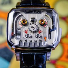 Here's a Hautlence watch that don't tell time! Who's ready to play? Tilt the time with the new Playground Pinball. Sport Watches, Cool Watches, Watches For Men, Baselworld 2017, Hand Watch, Beautiful Watches, Watch Brands, Pinball, Vintage Watches