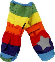 MOLO KIDS Igor Rainbow Stripe Gloves Mittens BNWT Brand New AW/12 Season