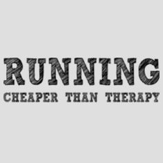 I'm definitely feeling the need for a 13 mile therapy session... and all the therapy sessions that come before the 13 mile session required to be able to DO the 13 mile session.
