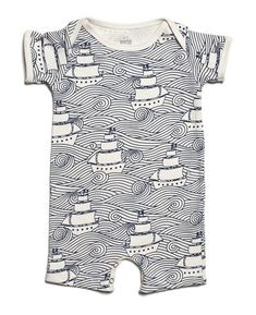 Winter water factory organic cotton baby summer romper with high seas print Baby Boy Fashion, Fashion Kids, Baby Design, Baby Boy Outfits, Kids Outfits, Bebe Love, Baby Boy Romper, Summer Romper, Baby Phat
