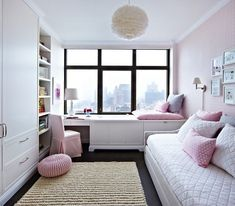 21 Attractive Girl Bedroom Ideas (Amazing Tips and Inspirations) teen girl bedroom decor - Bedroom Decoration Blue Teen Girl Bedroom, Bedroom Decor For Teen Girls, Teenage Girl Bedrooms, Girl Room, Kid Bedrooms, Childrens Bedroom, Child Room, Trendy Bedroom, Small Bedroom Designs