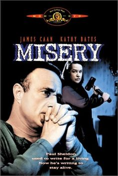"Misery - A ""heart-stopping psychological thriller"" (Joel Siegel) this Academy AwardÂ(r)-winning* film is ""one of the best horror movies"" (Time) ever. http://www.amazon.com/Misery-James-Caan/dp/0792846443/ref=sr_1_110?m=A3030B7KEKNTF7&s=merchant-items&ie=UTF8&qid=1394307642&sr=1-110"