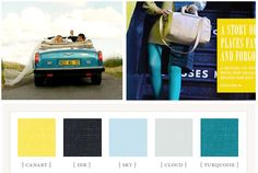 Great color combo... bedroom maybe?