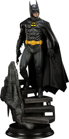 Batman Batman Premium Format™ Figure by Sideshow Collectibles Michael Keaton 1989 Batman Film Version    Exclusive  Limited Edition: 1250