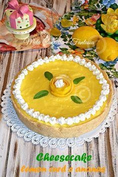 Cheesecake lemon curd e ananas (senza cottura) | Mela Cannella e Fantasia