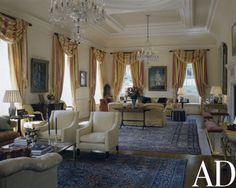 Brown-Davis Interiors Inc. | British Embassy Residence, Washington DC