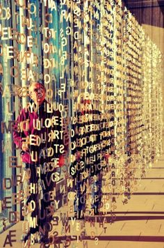 Jaume Plensa at the Yorkshire Sculpture Park 2012. Photo by @SophieHenzell