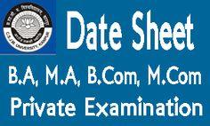 CSJMU Exam Date Sheet 2017, candidate check Kanpur University Time table, download CSJM BA, BSC, BCOM, UG, PG Exam Schedule, CSJMU Exam Scheme 2016-17.