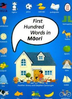 Presents 100 common words in Māori accompanied by pictures for young learners. Includes a guide to pronunciation and counting. Suggested level: junior, primary. Maori Words, Describing Words, Maori Designs, My Family History, Welcome To The Family, Educational Activities, Childhood Education, Teacher Resources, Kids And Parenting