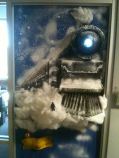 2010 LEC door wars - Polar Express with working light & Bonnie\u0027s Polar Express door! So awesome. Inspires me to try to be ...