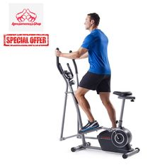 Elliptical Bike Exercise Recumbent Trainer Workout Best Smooth Machine with Seat #Weslo