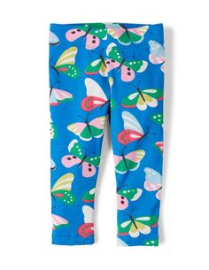 Printed Cropped Leggings 32610 Sweatpants & Leggings at Boden