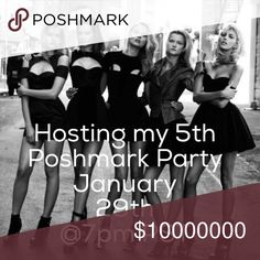 Hosting my 5th Posh Party  Hi ladies, I am super excited to be hosting my 5th Posh Party  will be choosing Host Picks once I know the party theme. Xoxo ❤️ Other