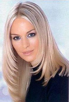 32 Besten Frisuren Für Glatte Haare Bilder Auf Pinterest